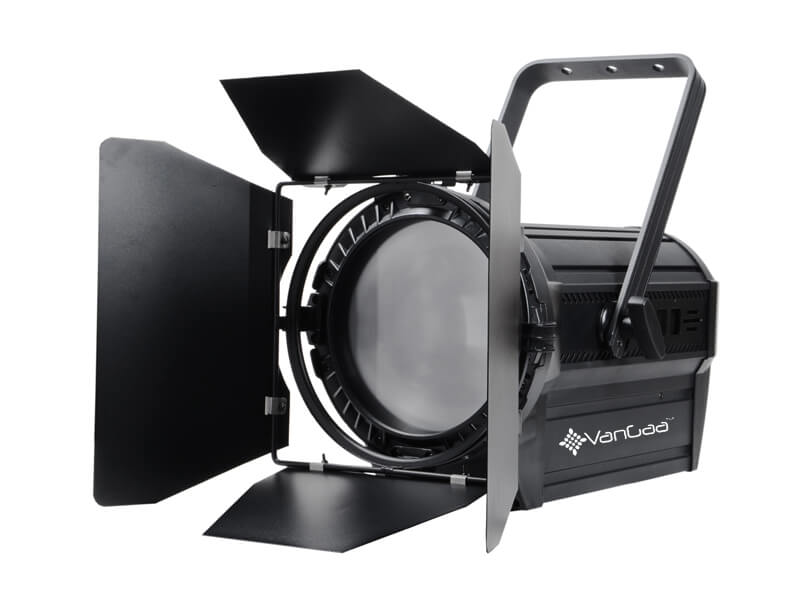 200W Color Temp. Adjustable LED Fresnel Spot Light