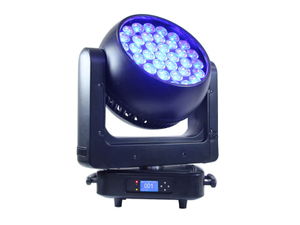 Aura 37pcs 25W 4in1 LED Zoom Moving Head Beam Wash Light